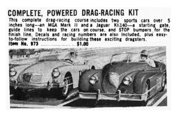 Complete Powered Drag Racing Kit. Advertisement