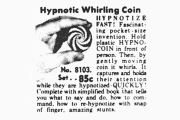 Hypnotic Whirling Coin