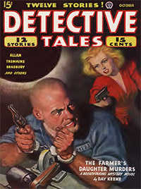 Cover of Detective Tales October, 1944