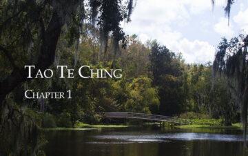 Tao Te Ching Chapter 1