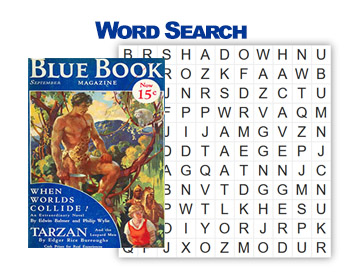 Tarzan Word Search