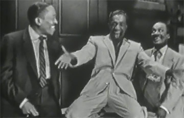 Sammy Davis Sr., Sammy Davis, Jr. and Will Mastin