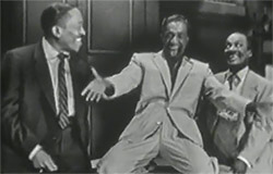 Sammy Davis Sr., Sammy Davis, Jr. And Wil Mastin in performance.