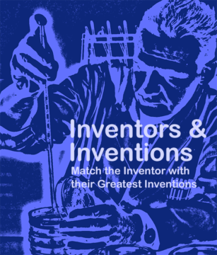 Inventors and Inventions - Match the Inventor with their greatest invention
