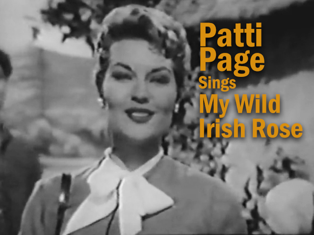 Patti Page Sings and Swings My Wild Irish Rose