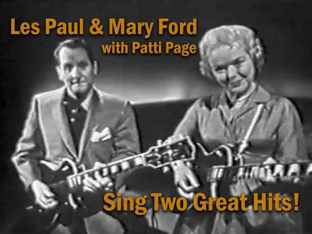 Les Paul and Mary Ford Sing Two Great Hits